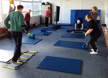 50 Plus Group Exercising