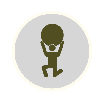 Strongman Course Icon